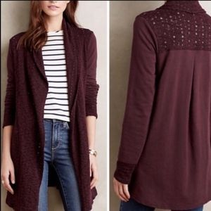 Saturday Sunday Athens Open Front Knit Cardigan